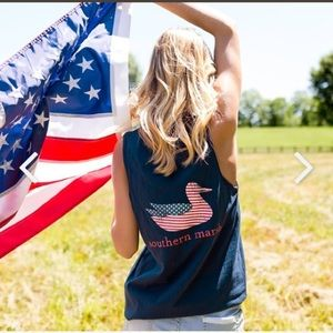 Southern Marsh Authentic Flag Tank Top